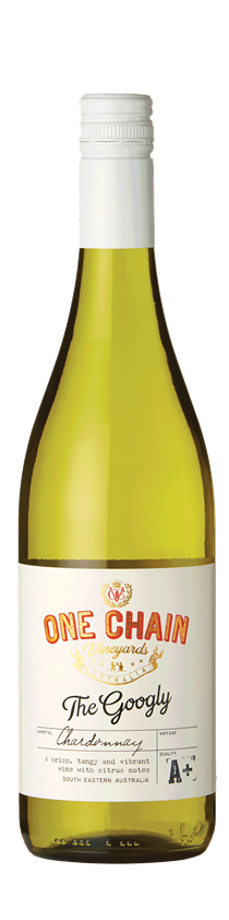 One Chain Vineyards, The Googly Chardonnay, South Eastern Australia, 2018